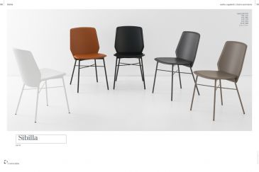 Dining Chair Calligaris SIBILA Series