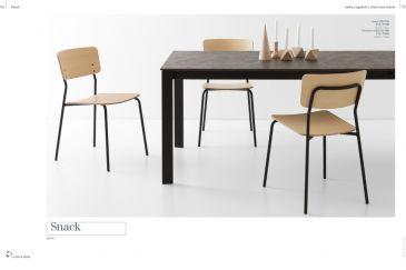 Dining Chair Calligaris SNACK Series