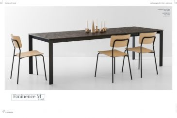 Dining Table Calligaris EMINENCE M Collection