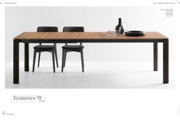 Dining Table Calligaris EMINENCE W Collection