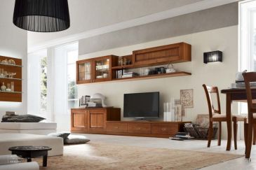 Living Room Cabinets ACF ASOLANA Series Composition AS571