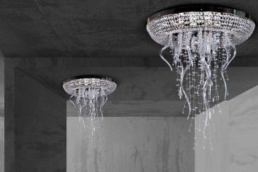 Chandeliers ArtGlass Series ICICLE