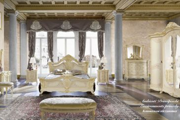 Bedroom MOBILPIU LUXURY MADAME ROYAL Series