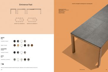 Трапезарна Маса Calligaris Серия EMINENCE FAST Collection