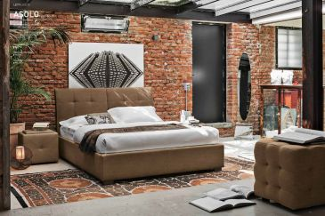 Leather Bedroom Target Point Asolo Series