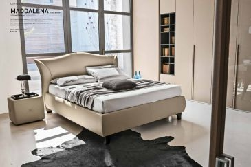 Leather Bedroom Target Point Maddalena Series