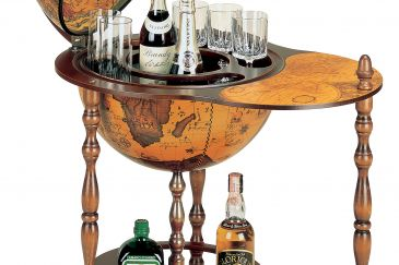 Classical Trolley Bar Globe DORADO