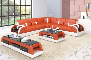 Sectional Sofa Model G8040B
