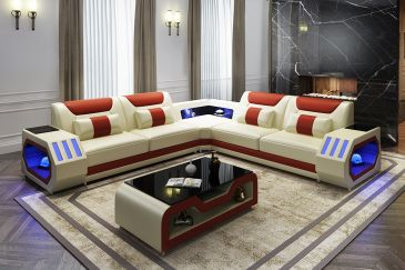 Sectional Sofa Model G8046B