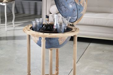 Bar Globe ROVERE BLUE DUST