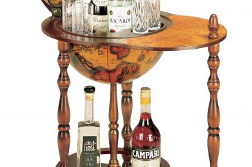 Classical Trolley Bar Globe SESTANTE