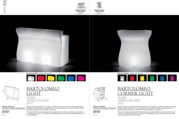 Bar Plust Collection Serie BARTOLOMEO RGB LED