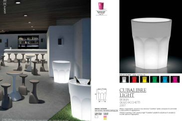 Саксия Plust Collection Серия CUBALIBRE RGB LED
